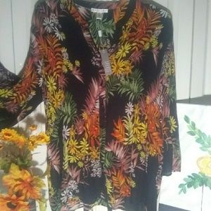 Tops - Selena smoked bodice blouse, by: Spense